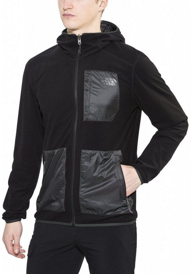 The North Face Outdoorjacke »Wilkens Reversible Wind Hoodie Men« in schwarz