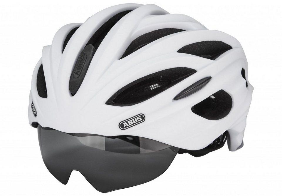 ABUS Fahrradhelm »In-Vizz Helm« in weiß