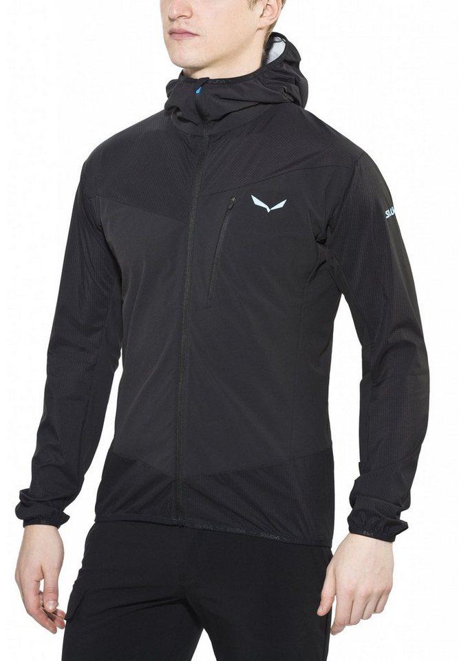Salewa Softshelljacke »Pedroc Hybrid 2 Jacket Men DST/PTX« in schwarz