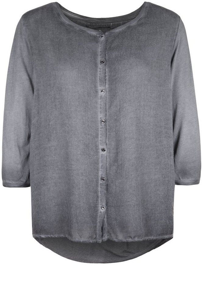Better Rich Longsleeve »BUTTON BLOUSE VOILE« in new black