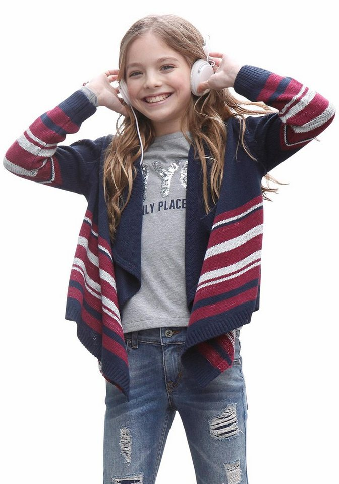 KIDSWORLD Strickjacke in offener Form in bunt