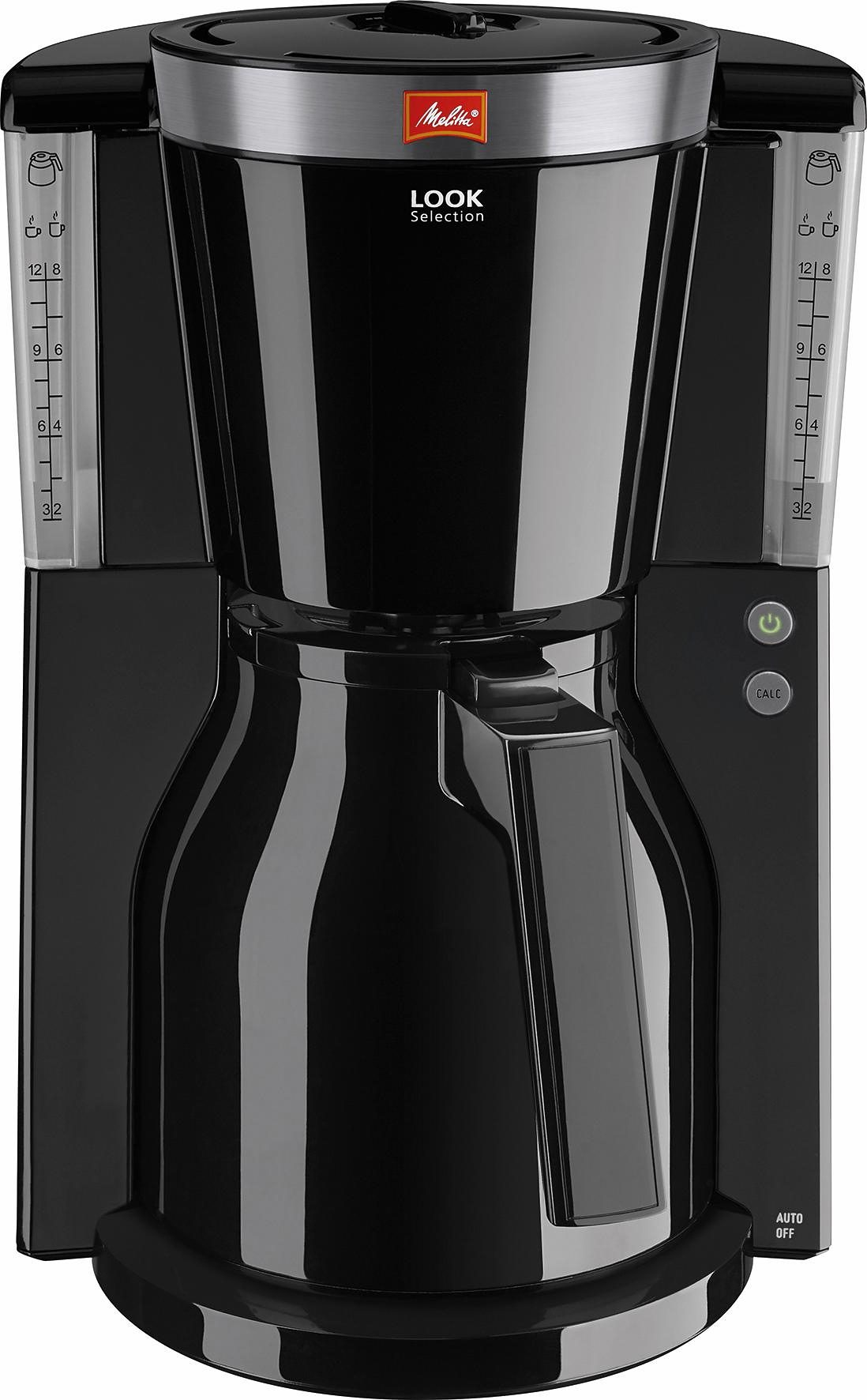 Melitta Kaffeemaschine Look® Therm Selection 1011-12, schwarz
