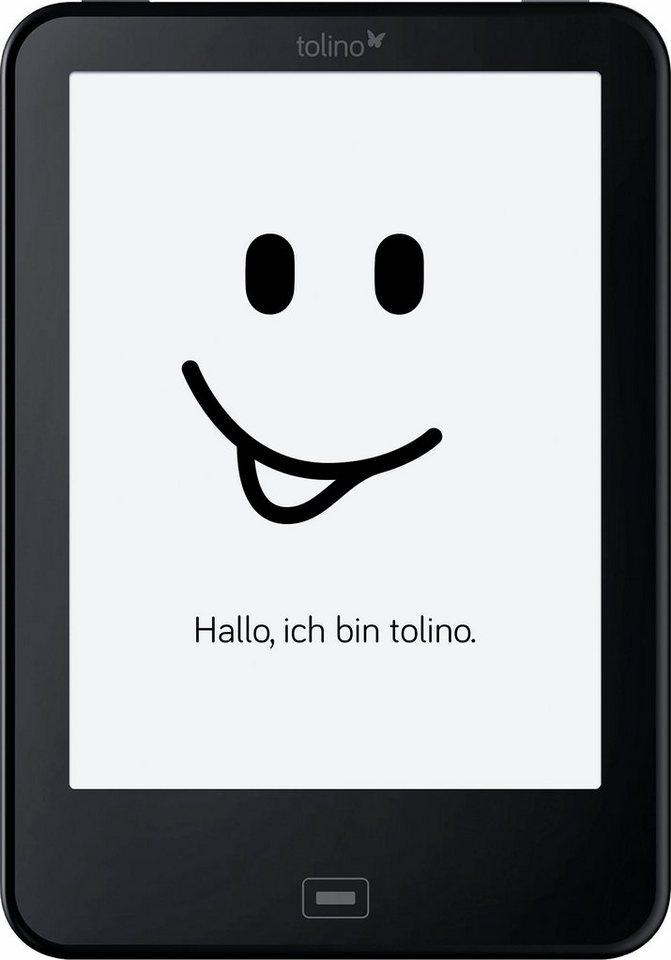 Tolino Vision 3 HD E-Book-Reader, Freescale i.MX6, 15,2 cm (6 Zoll), 512 MB in schwarz