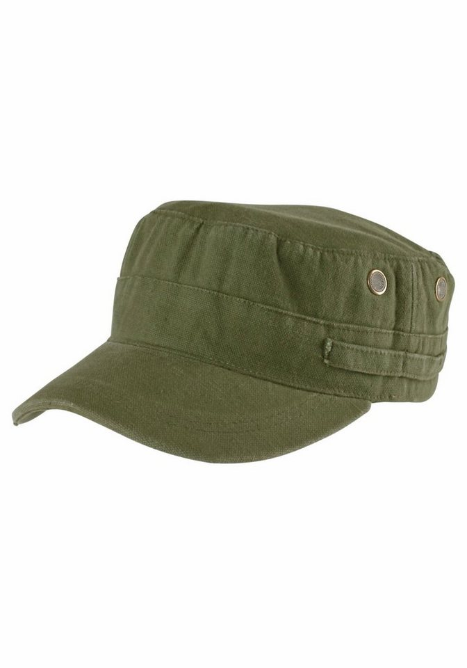 J. Jayz Army Cap im zeitlosen Design in olivgrün