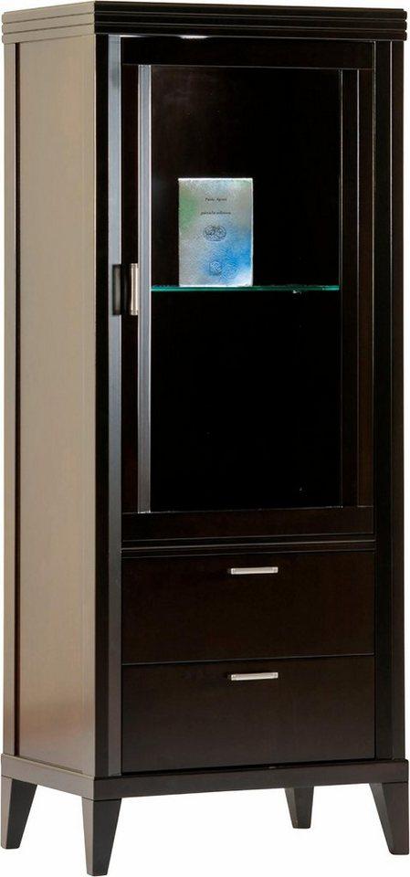 selva vitrine eliza modell 7389 t ranschlag rechts in. Black Bedroom Furniture Sets. Home Design Ideas