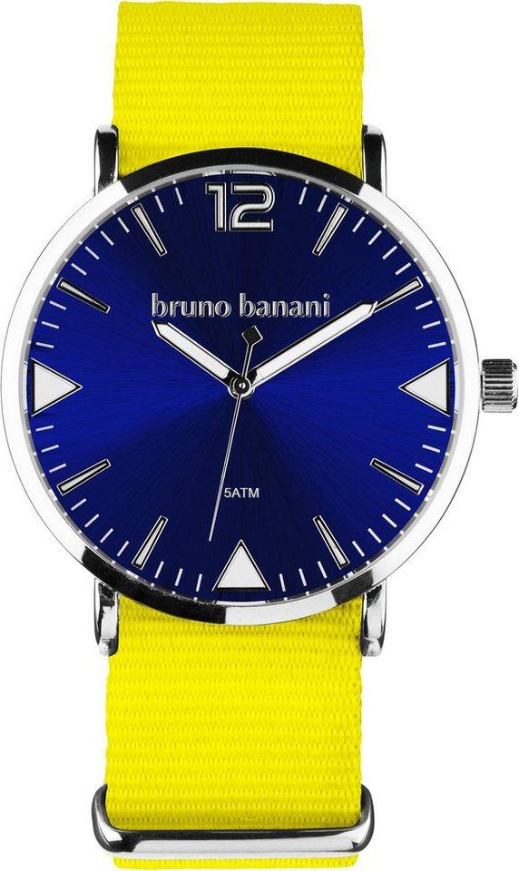 Bruno Banani Quarzuhr in gelb