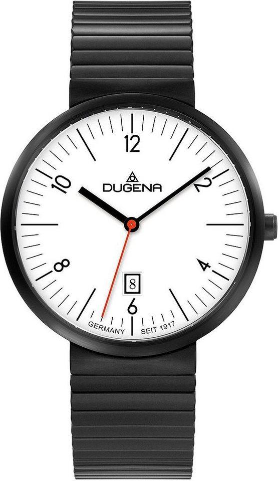 Dugena Quarzuhr »4460684« in schwarz