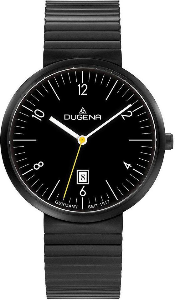 Dugena Quarzuhr »4460682« in schwarz