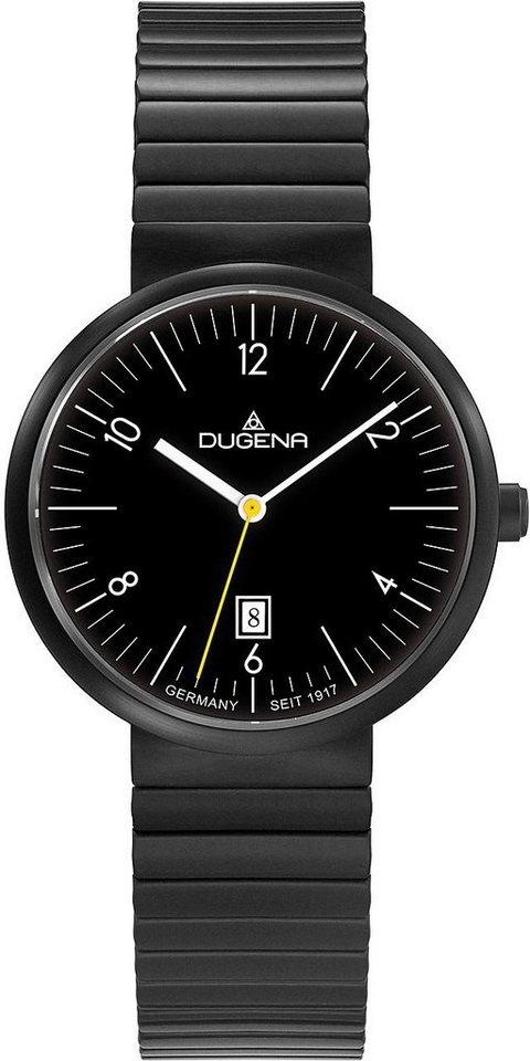 Dugena Quarzuhr »4460683« in schwarz