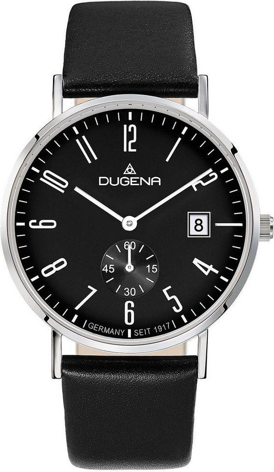 Dugena Quarzuhr in schwarz