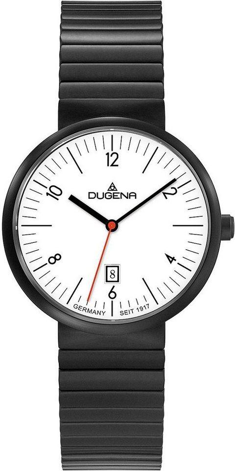Dugena Quarzuhr »4460685« in schwarz