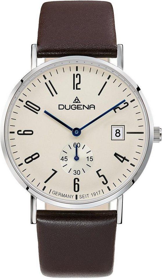 Dugena Quarzuhr »4460664« mit kleiner Sekunde in braun