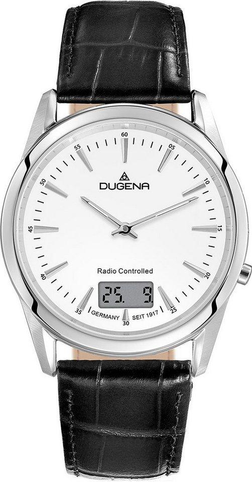 Dugena Funkuhr »4460676« in schwarz