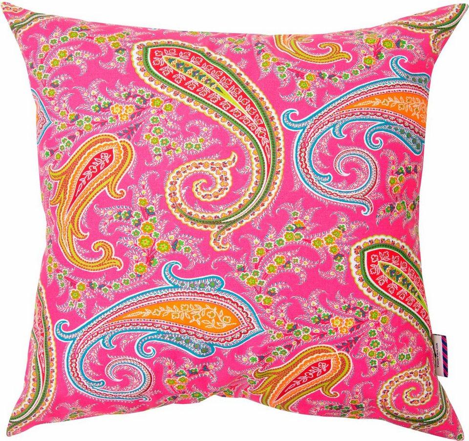 Kissenhüllen, Tom Tailor, »Pink Paisley« (1 Stück) in pink