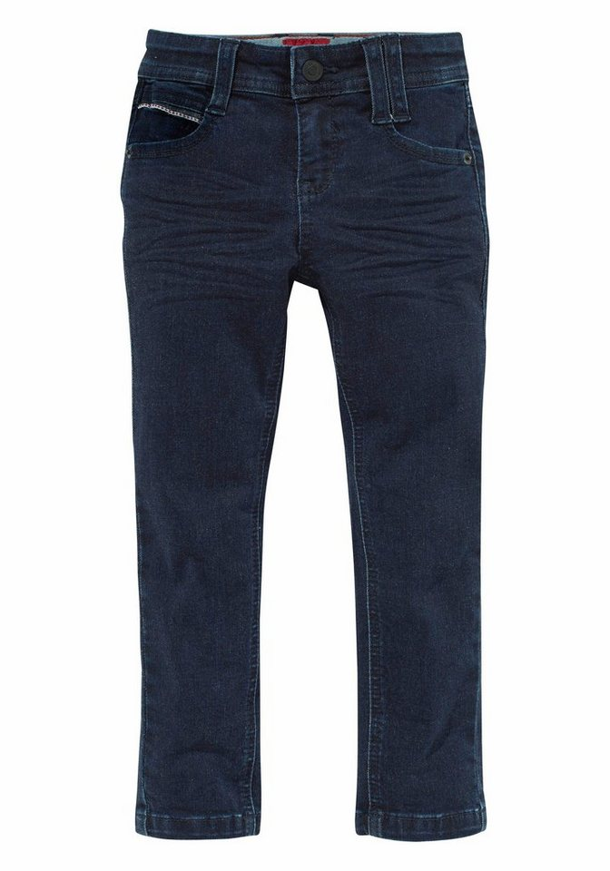 s.Oliver RED LABEL Junior Stretch-Jeans Sehr schmale Skinny-Fit in blue-denim