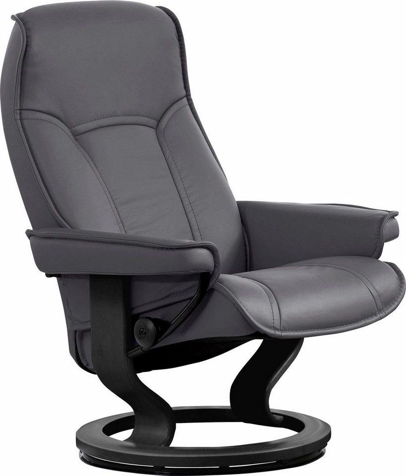 Stressless® Relaxsessel »Senator« mit Classic Base, Größe M, mit Schlaffunktion in grey