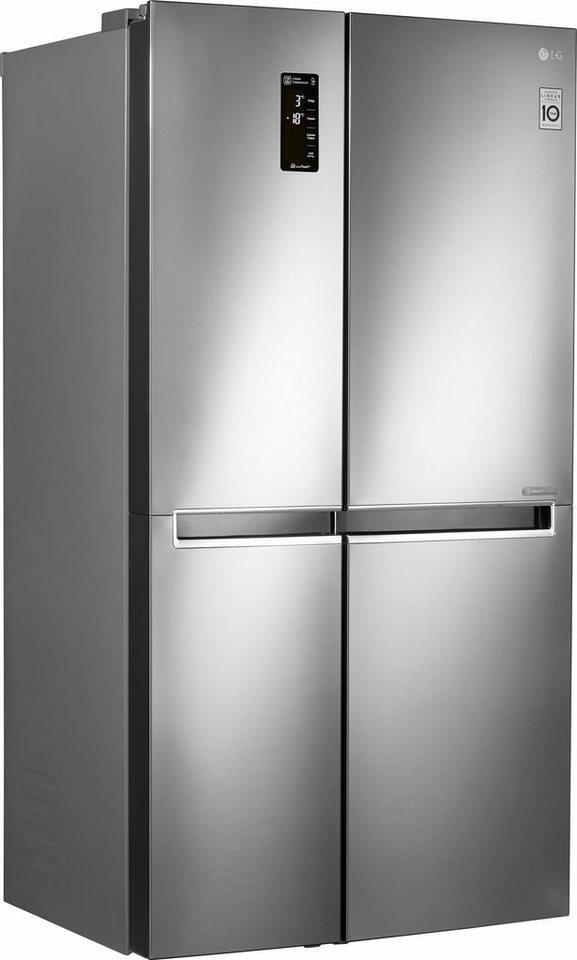 LG Side-by-Side GSB760PZXZ, 179 cm hoch, 91,2 cm breit online kaufen ...
