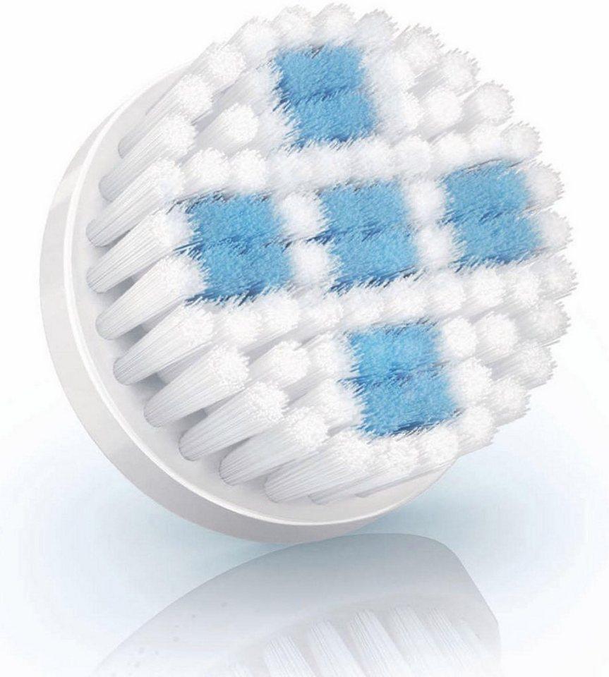 Philips Austauschbürste SC5996/00 für VisaPure , porentiefe Reinigung in weiß/hellblau