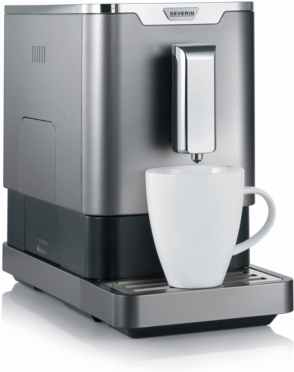 Severin Kaffeevollautomat KV 8090, ultra-schlankes Design