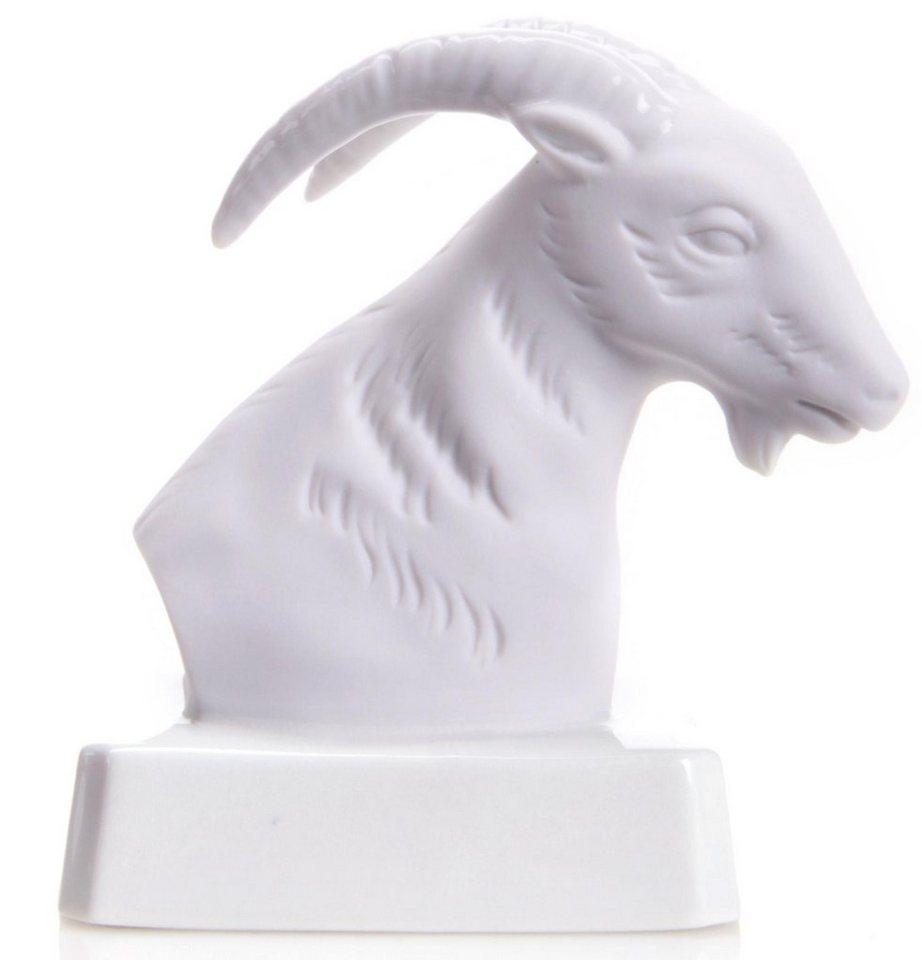 W&A Figur Sternzeichen »Steinbock« aus Porzellan in weiß