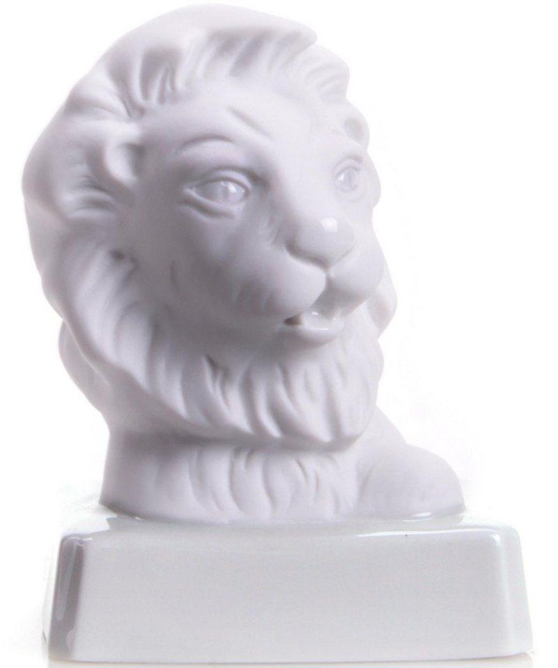 W&A Figur Sternzeichen »Löwe« aus Porzellan in weiß