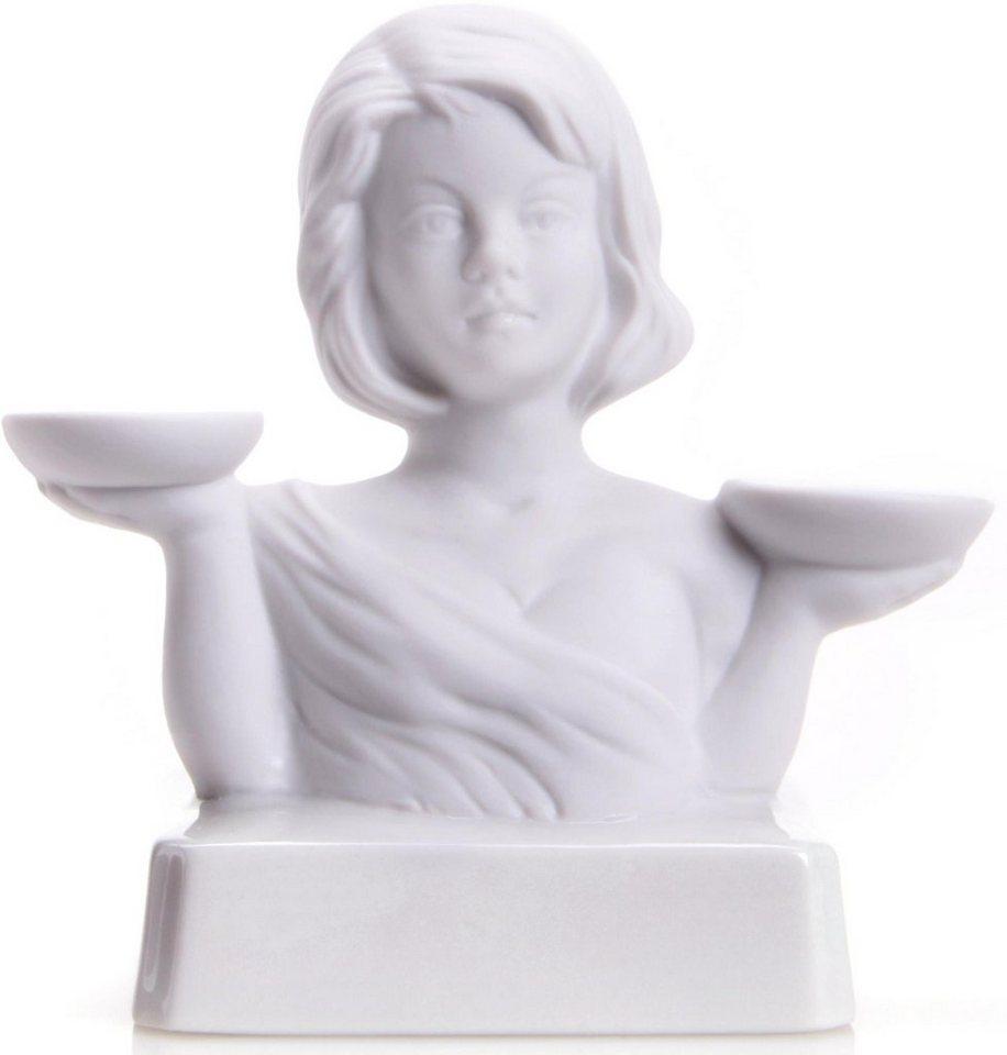 W&A Figur Sternzeichen »Waage« aus Porzellan in weiß