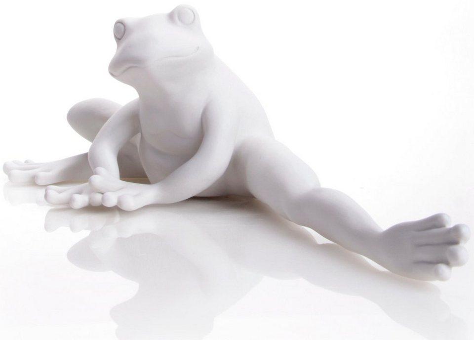 W&A Figur »Frosch Frida« aus Porzellan in weiß