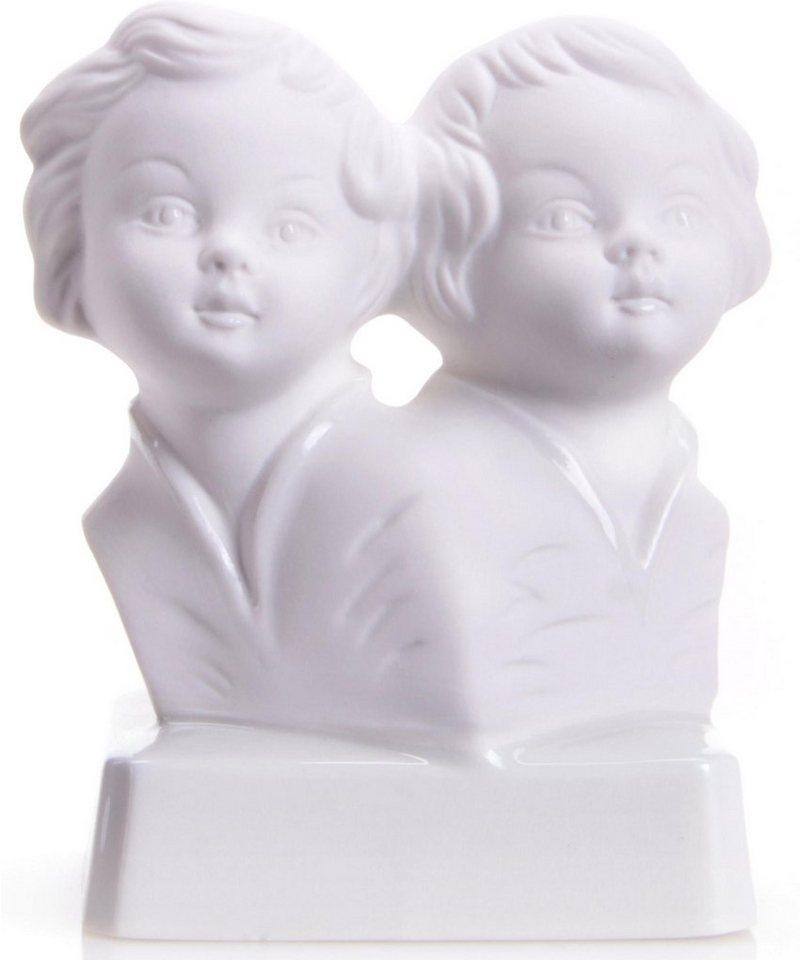 W&A Figur Sternzeichen »Zwillinge« aus Porzellan in weiß