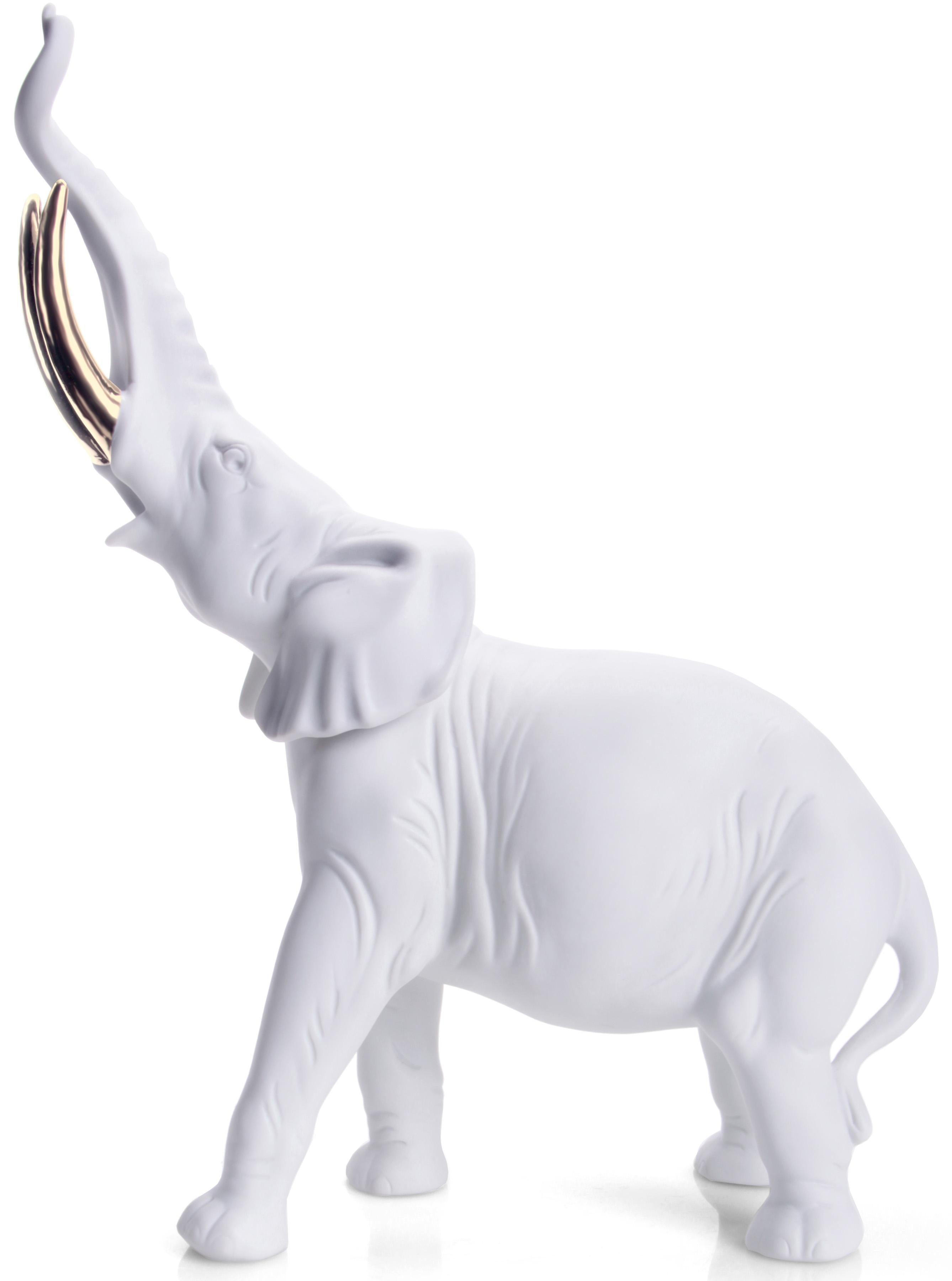 W&A Figur »Elefant« aus Porzellan