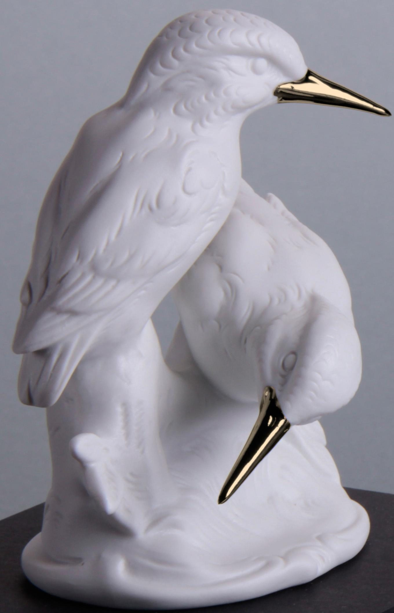 W&A Figur »Eisvogelgruppe« aus Porzellan