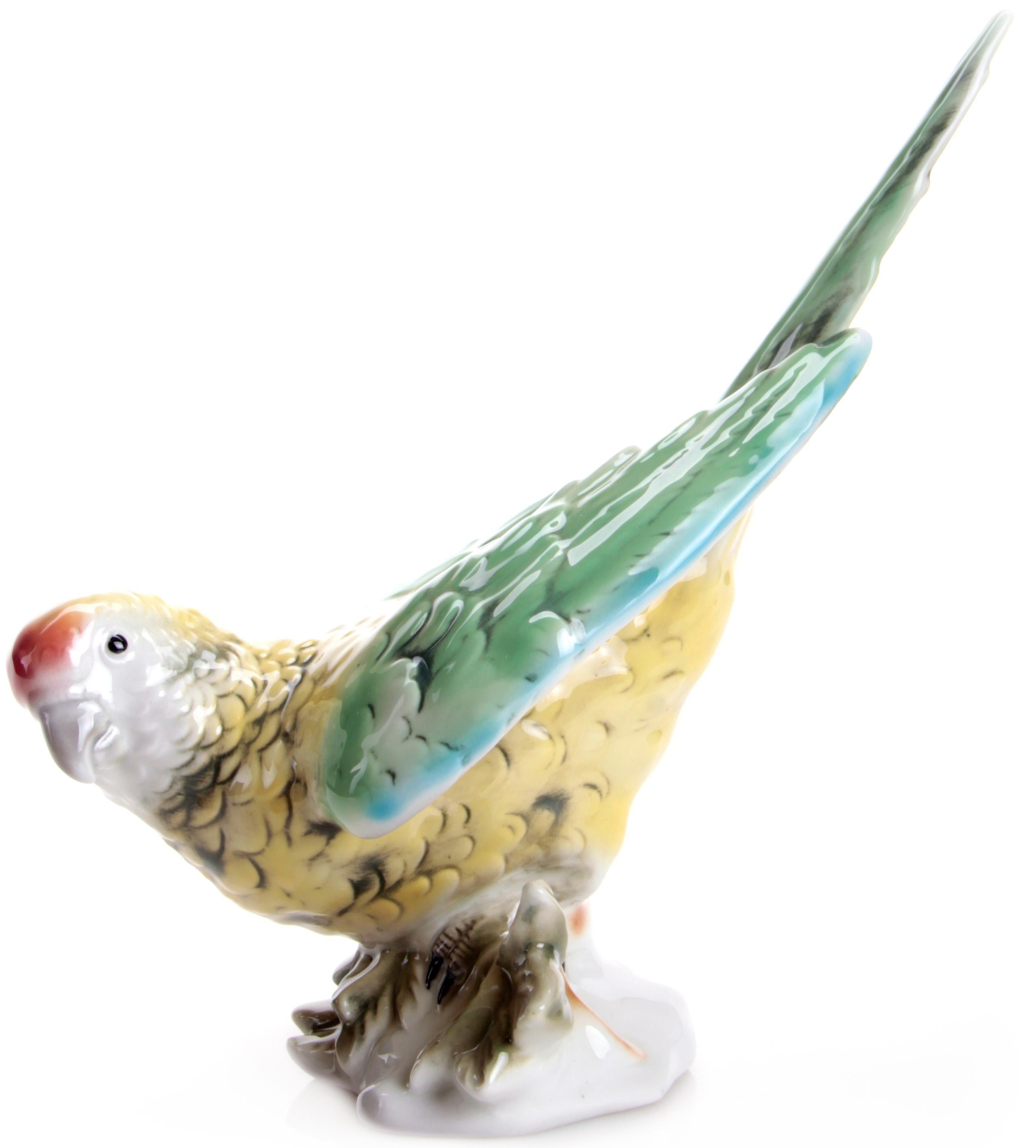 W&A Figur »Papagei« aus Porzellan