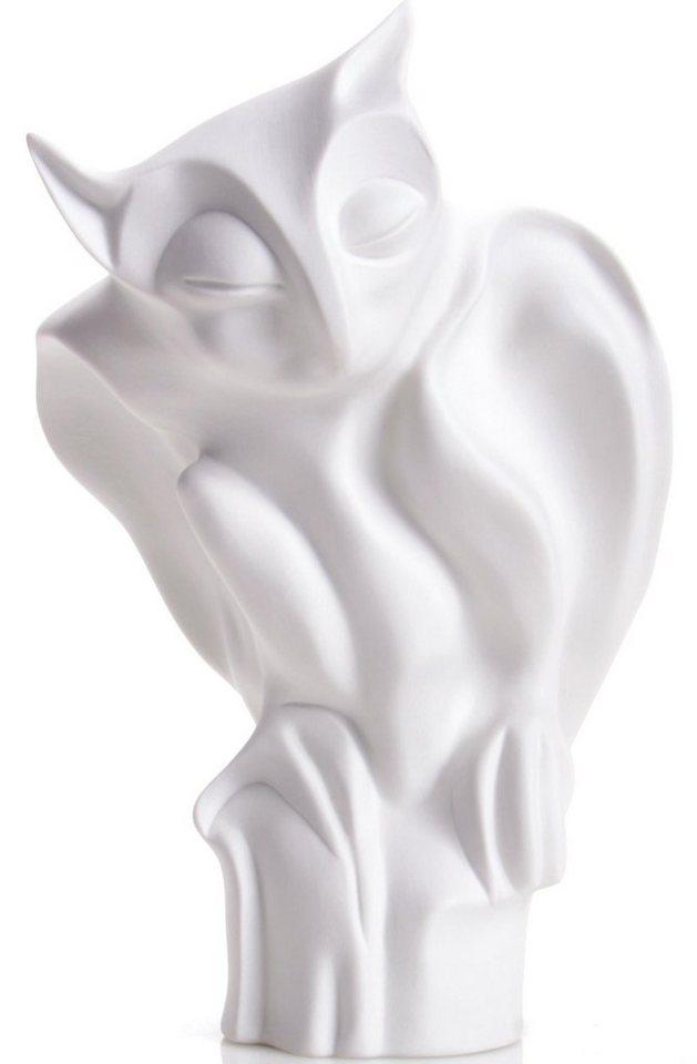 W&A Figur »Eule« aus Porzellan in weiß