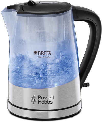 RUSSELL HOBBS Wasserkocher WK 22850-70, 1,5 l, 2200 W, mit Brita Maxtra Filterkartusche
