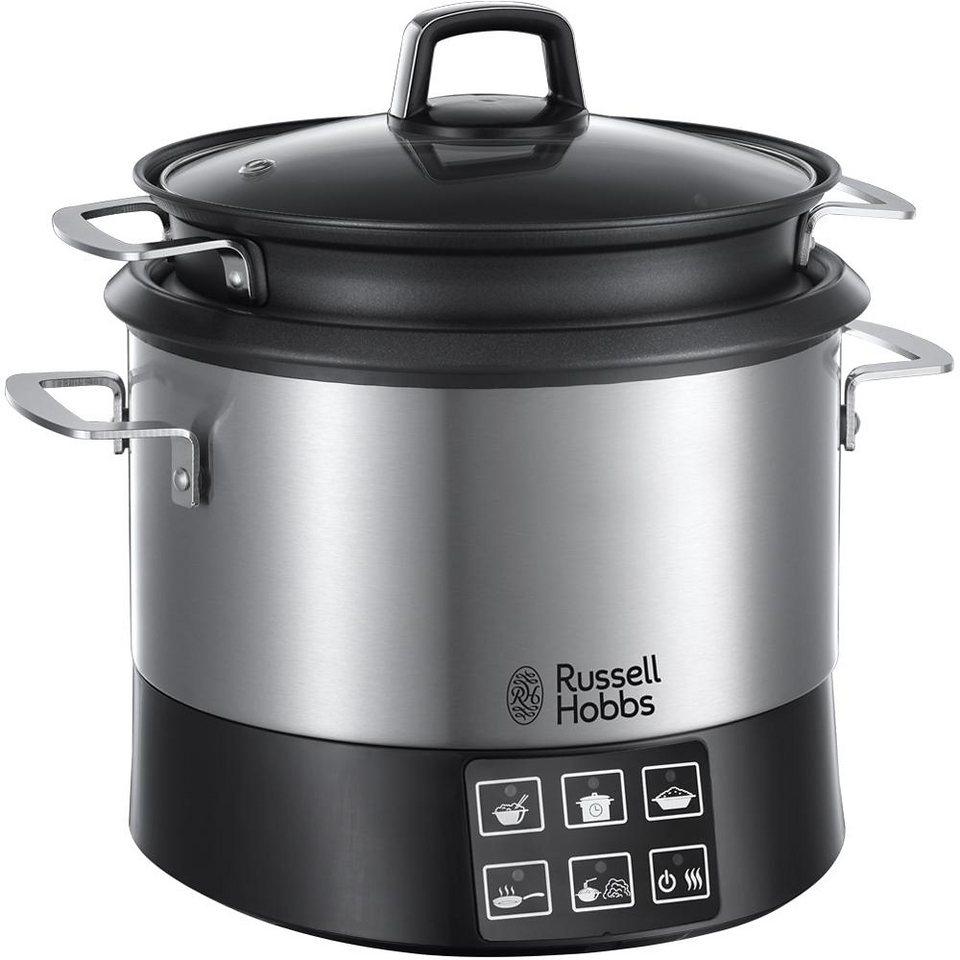 Russell Hobbs Multifunktionskochtopf Cook@Home 23130-56 in edelstahl-schwarz
