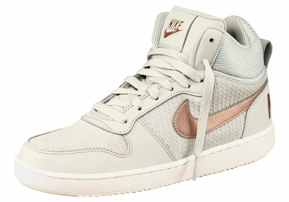 Nike »Womens Court Borough Mid Prem« Sneaker in beige-bronzefarben