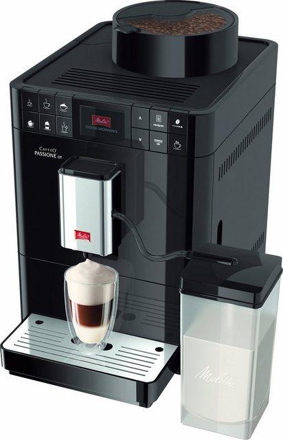 Melitta Kaffeevollautomat Caffeo Passione OT F53 1-102, mit Direktbezugstasten
