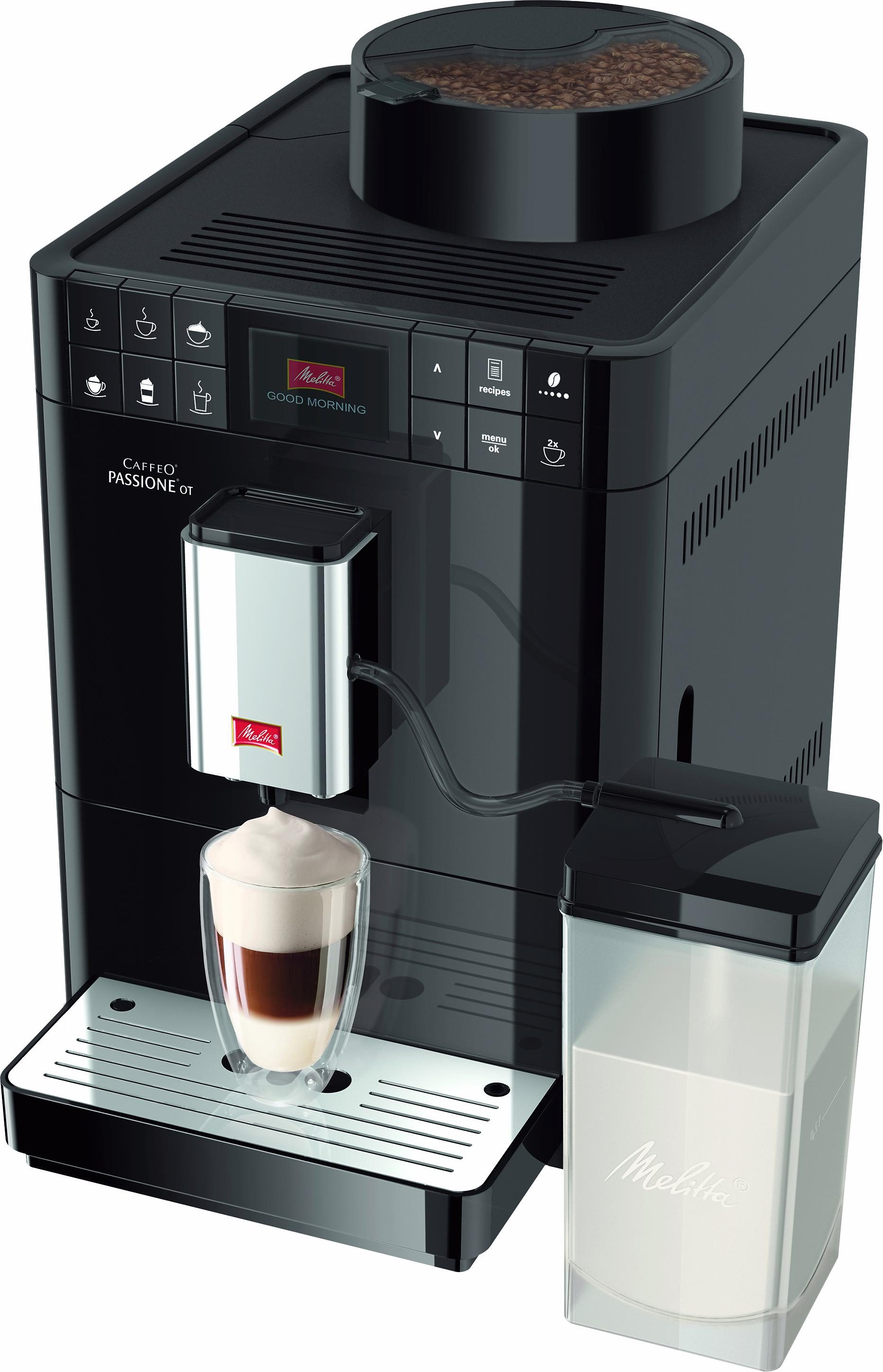 Melitta Kaffeevollautomat Caffeo® Passione® OT F53/1-102, schwarz