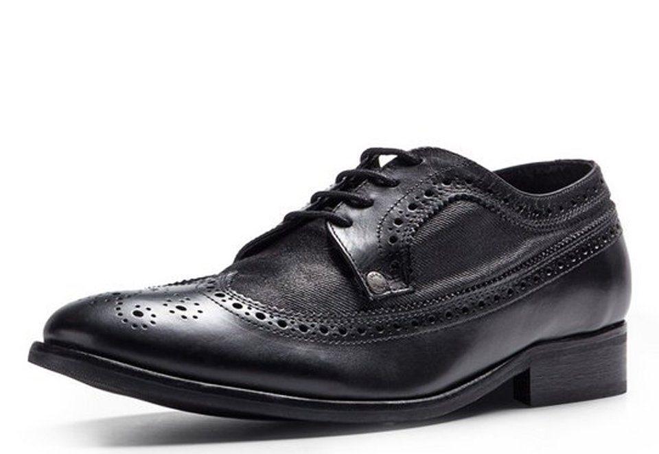 Jack & Jones Brogue Schuhe in Black