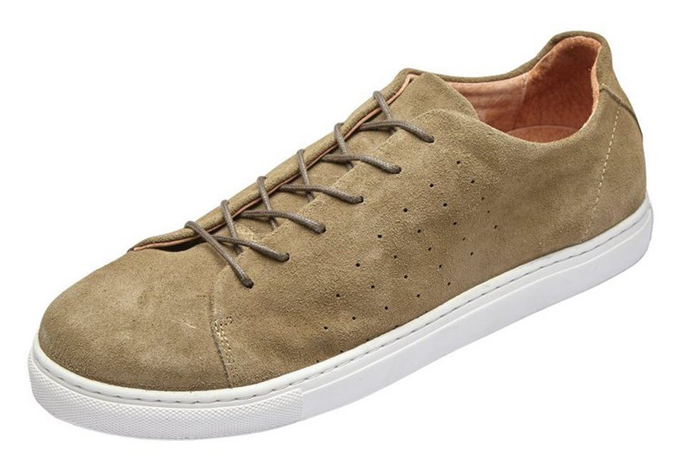 SELECTED Wildleder- Sportschuhe in Green Olive