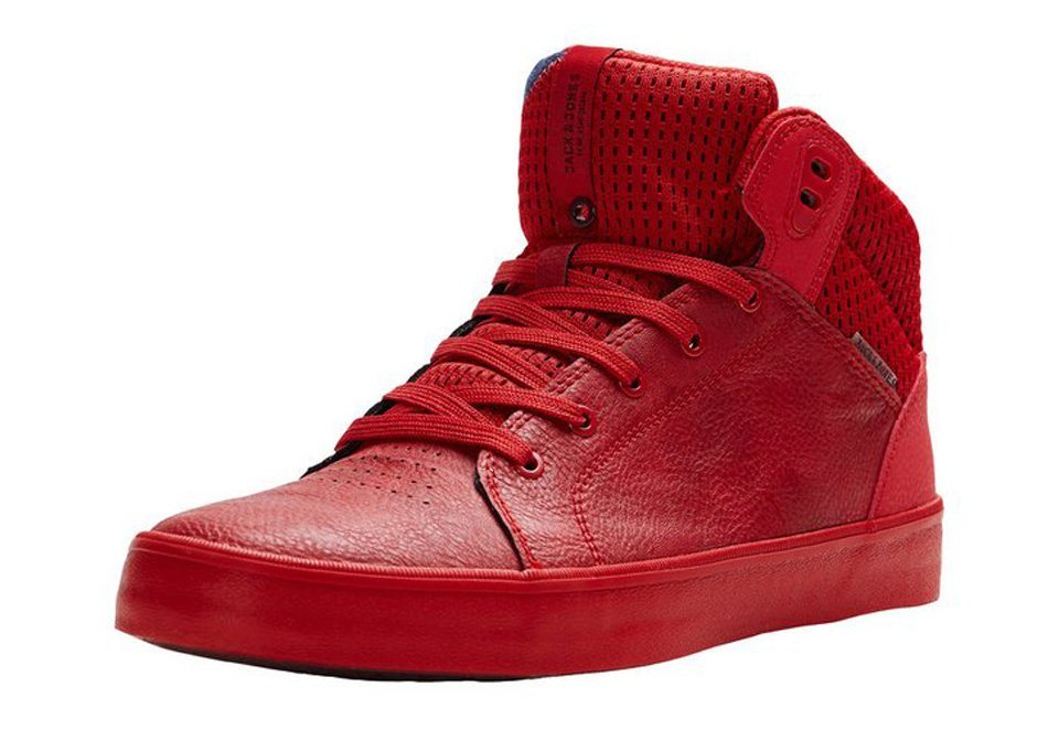 Jack & Jones Skater- Sneaker in Barbados Cherry