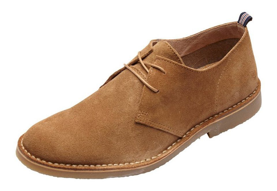 SELECTED Wildleder- Schuhe in TAN