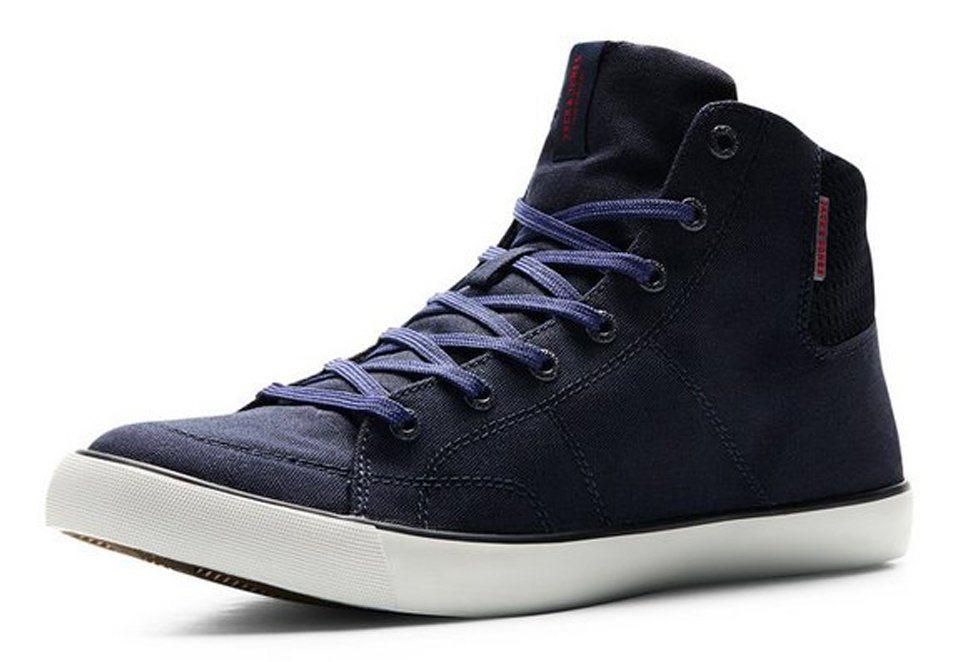 Jack & Jones Canvas- Sportschuhe in Navy Blazer