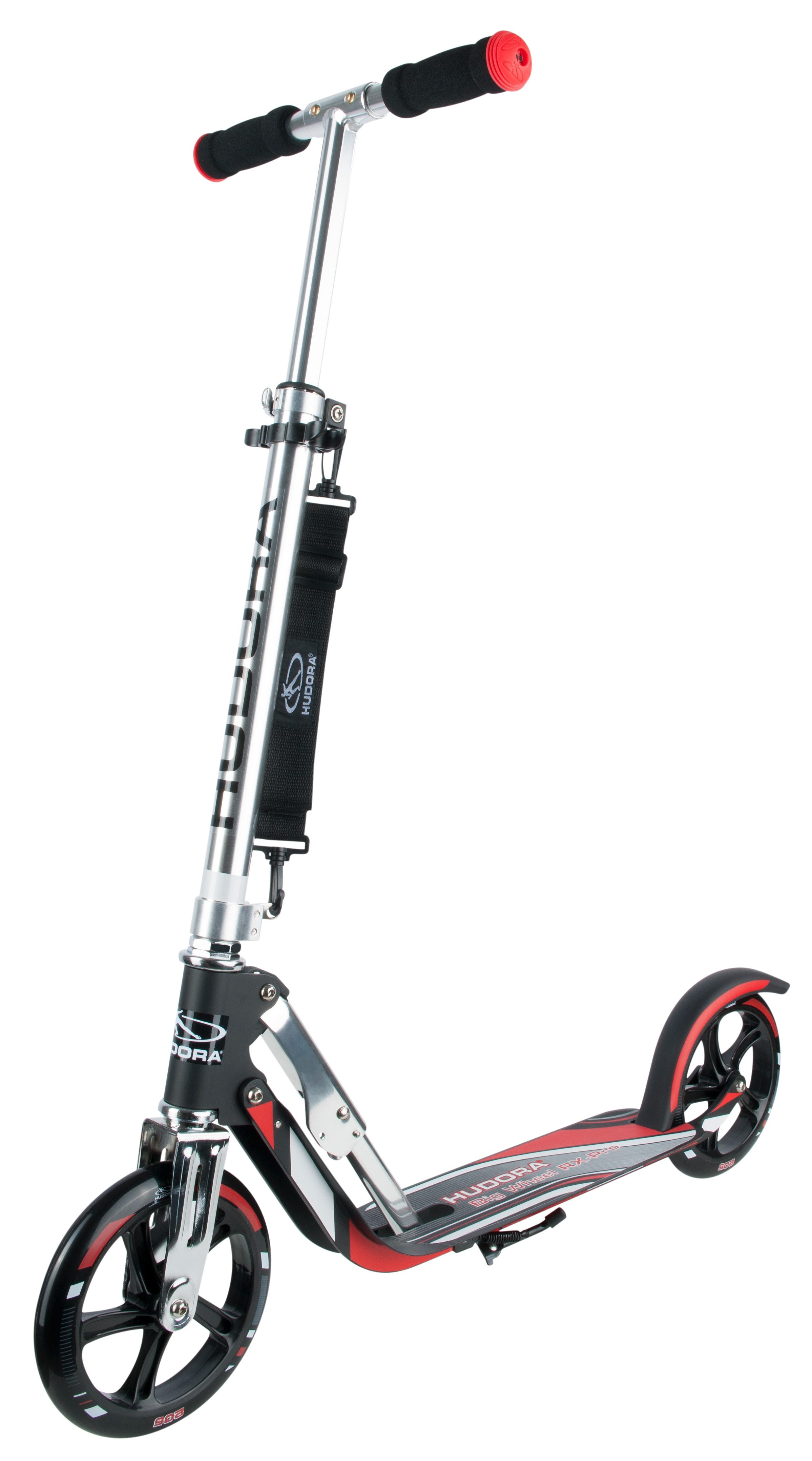 Hudora Scooter, »Big Wheel RX-Pro 205 rot-schwarz«