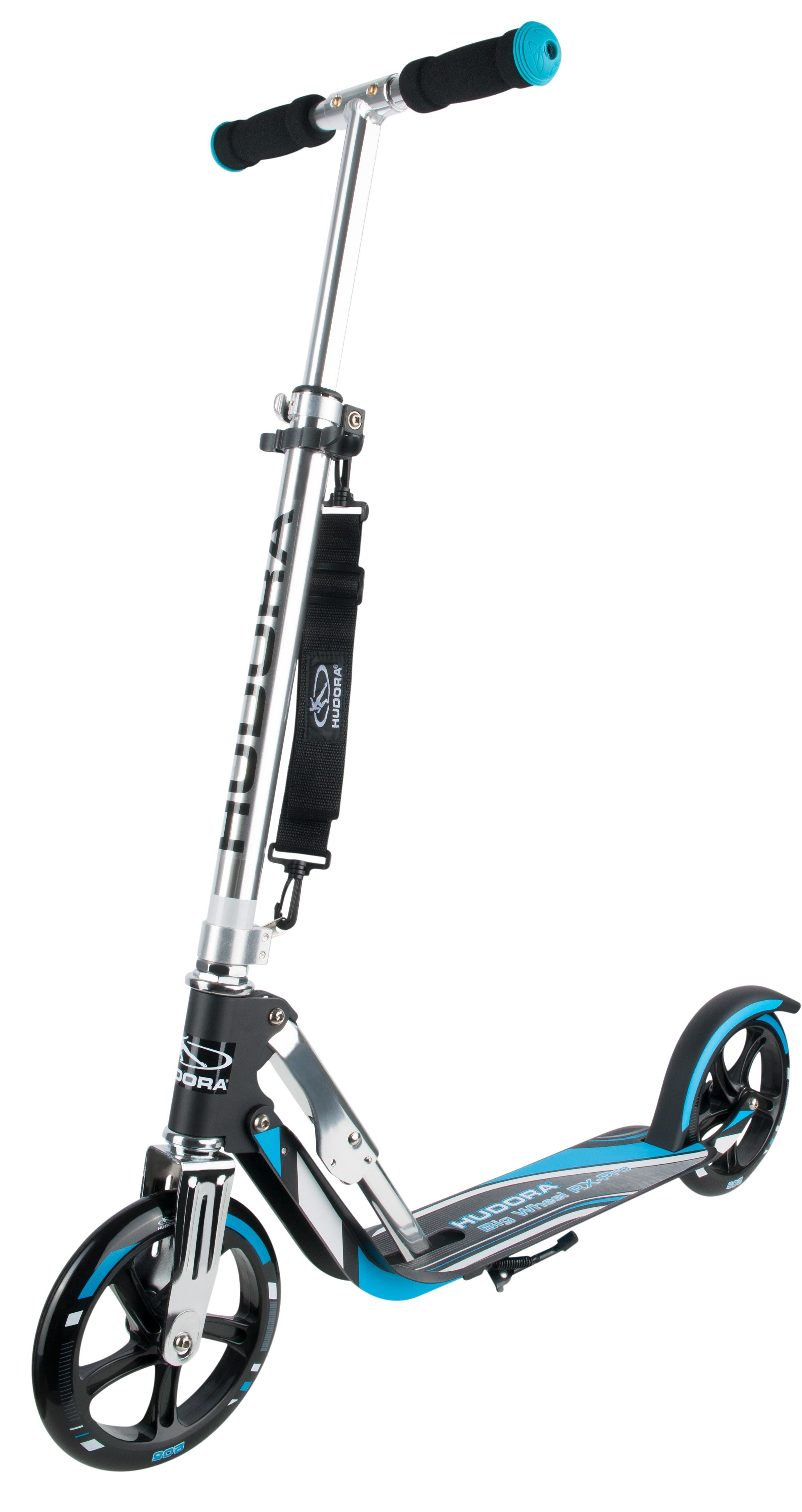 Hudora Scooter, »Big Wheel RX-Pro 205 schwarz-blau«
