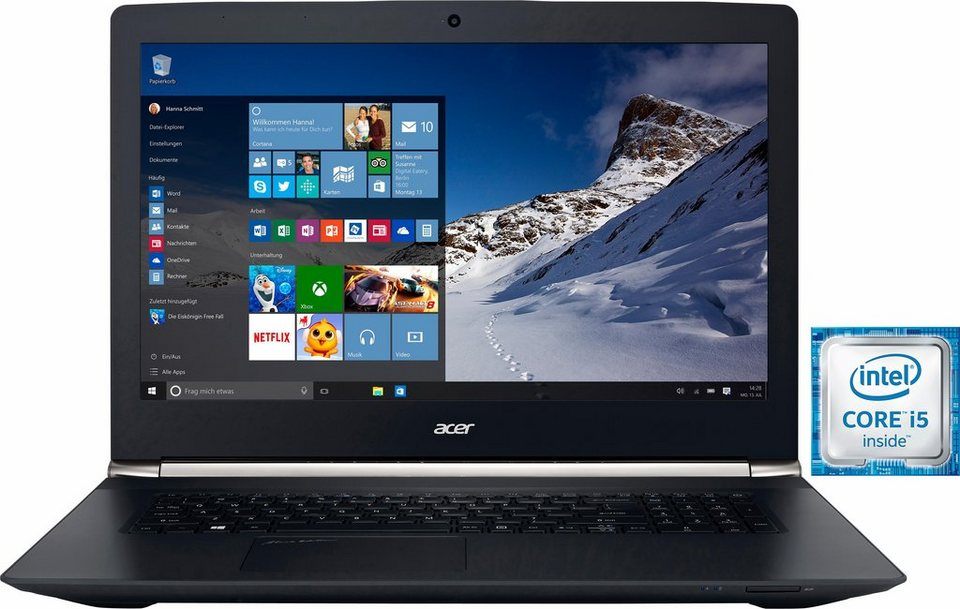 Acer Aspire V 17 Nitro VN7-792G-593V Notebook, Intel® Core™ i5, 43,9 cm (17,3 Zoll) in schwarz