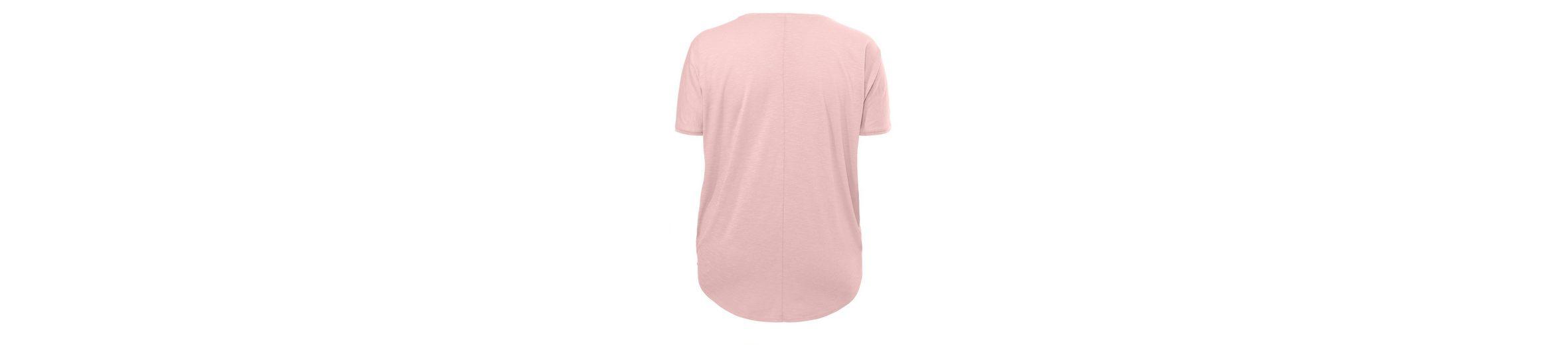 FRAPP Raffiniertes Shirt in V-Form
