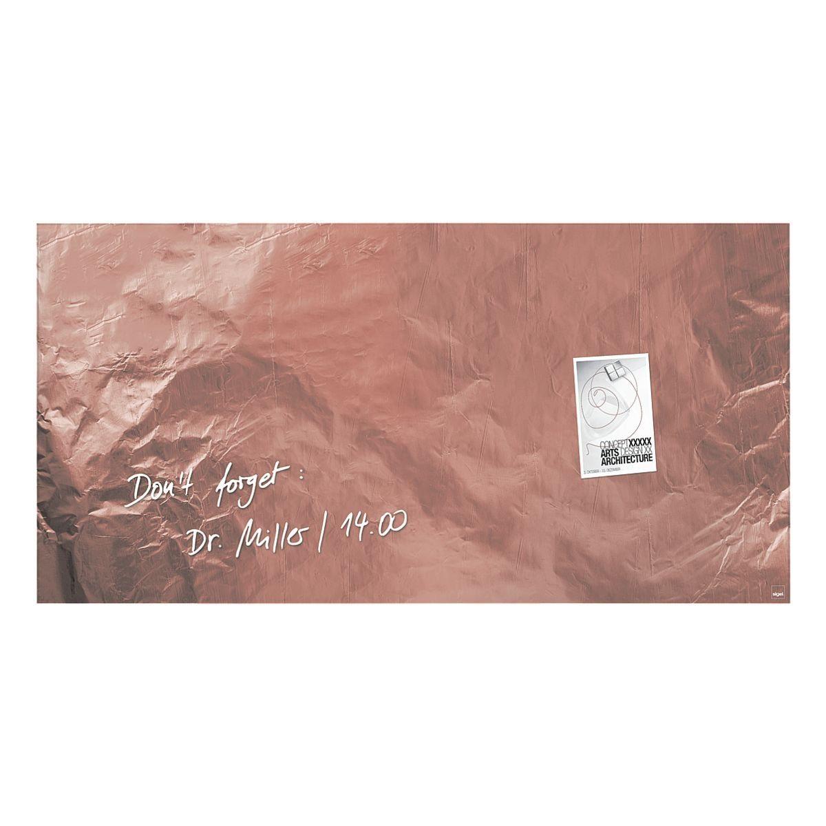 Sigel Glas-Magnettafel »artverum® Pure Cooper«