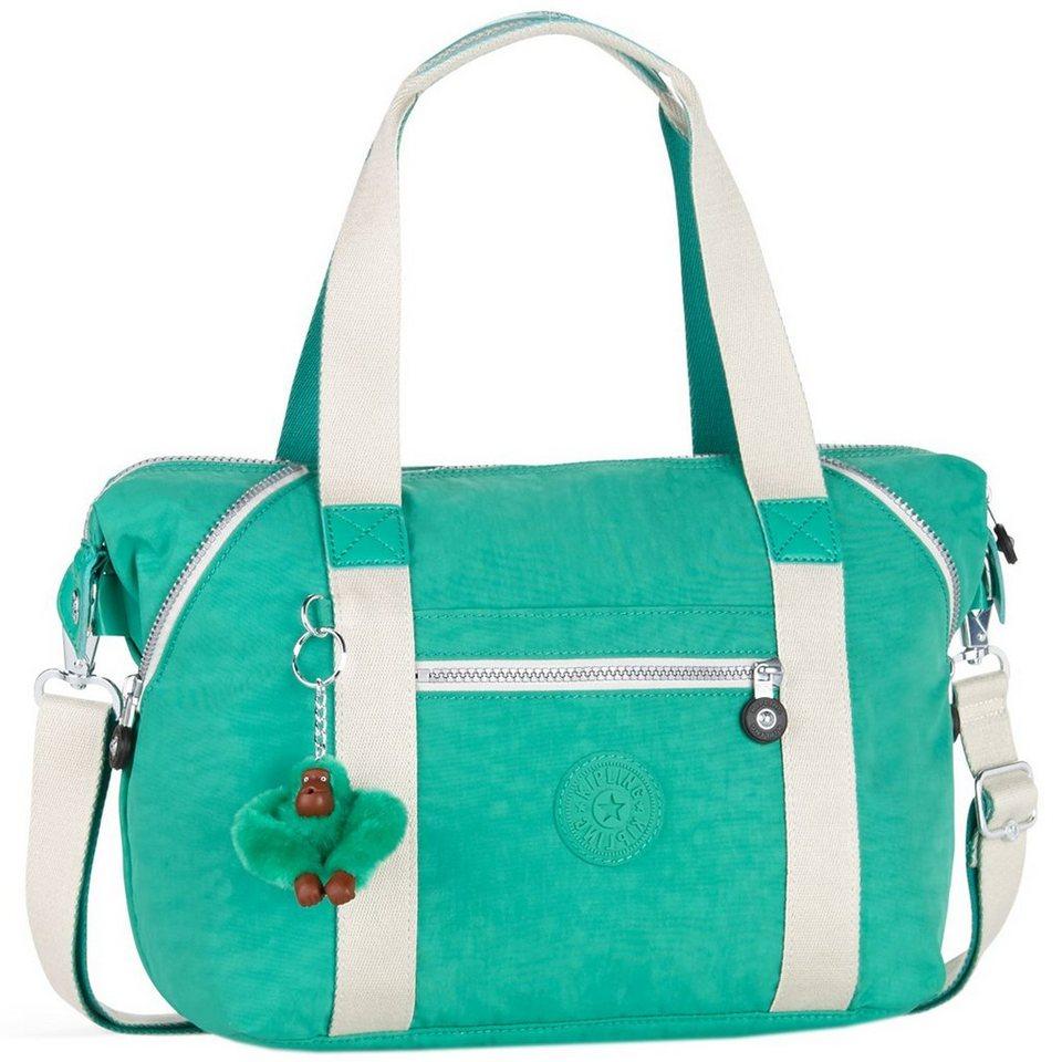 Kipling Basic Plus Art S Handtasche 44 cm in mojito green ic