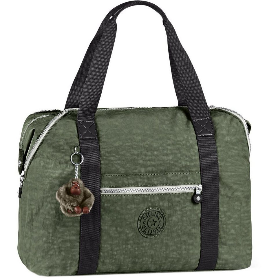 Kipling Basic Travel Art 15 M Weekender 58 cm in cactus khaki ct