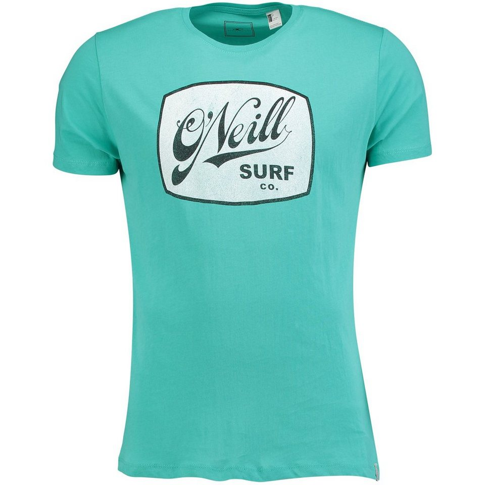 O'Neill T-Shirt kurzärmlig »Vintage Logo« in Aqua